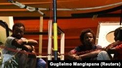 Afrički migranti u luci na ostrvu Lampeduza, fotoarhiv