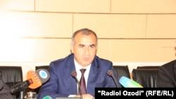 Генеральный прокурор Таджикистана Юсуф Рахмон. 4 августа 2016 года.