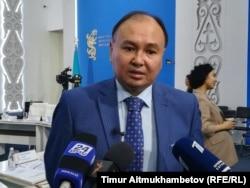 Саясаттанушы Ерлан Сайыров. Нұр-Сұлтан, 19 қыркүйек 2019 жыл.