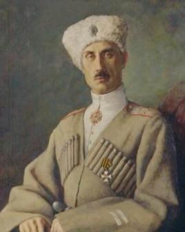Портрет барона Петра Николаевича Врангеля, 1920 год