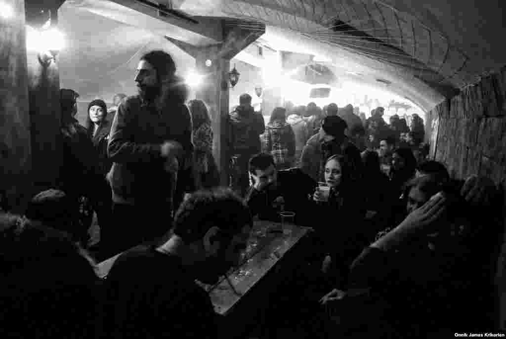 A number of bars in Tbilisi host punk bands on a regular basis. Basement Bar, near the city's Freedom Square, is particularly busy. Punk is not new in Georgia, but after becoming less visible, the genre is reappearing again.