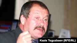 Орталық сайлау комиссиясы төрағасының орынбасары Владимир Фоос. Алматы, 23 қараша 2010 жыл.