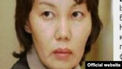 Анар Мешімбаеваға іздеу жарияланғаны туралы Қазақстан қаржы полициясының ресми сайтындағы ақпарат.