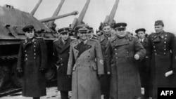 Броз Тито в Москве, апрель 1945