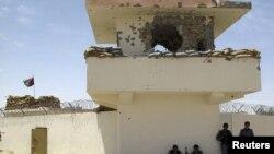Афганська поліція на КПП, де вбили трьох британців, 2 липня 2012 року