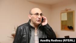 Azerbaijan -- Baku. Jailed Azerbaijani Activist Arif Yunus Released From Jail, But Can't Leave Baku - Arif Yunus talked to RFE/RL Azeri Service, 12 November 2015