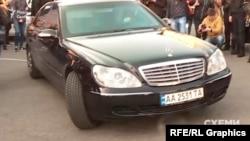 Сдавать анализы Зеленский приехал на авто Миндича