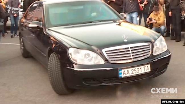 Здавати аналізи Зеленський приїхав на авто Міндіча