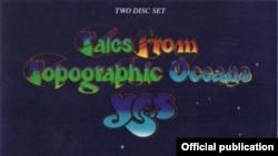 Detaliu de pe coperta dublului compact disc Tales From Topographic Oceans al formației Yes.
