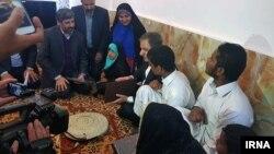 اسحاق جهانگیری در سفر اخیرش به سیستان و بلوچستان