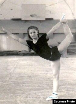 Майстар спорту па гімнастыцы Вольга Блашко, 1952 год