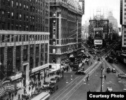 Таймс-сквер в 1935 году