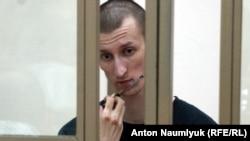Олександр Кольченко у суді 6 серпня 2015 року