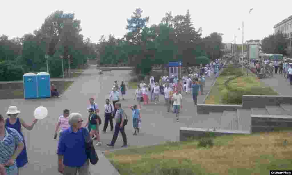 Russia--Omsk.Marsh of millions1