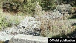 Тресонечка река - по изградбата на брана