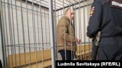 Артём Милушкин на заседании суда, Псков, 13 марта 2019 года