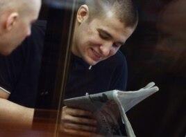 Алексей Полихович в суде, август 2013 года