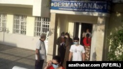 Аптека в Ашхабаде, август, 2020