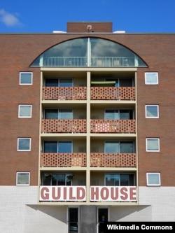 The Guild House, 1964, Robert Venturi