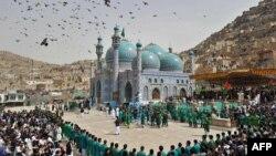 Ceremonie de Noul An la Sakhi Shrine, Kabul