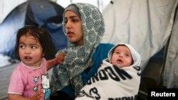 Sirijske izbjeglice u Grčkoj, 2016.