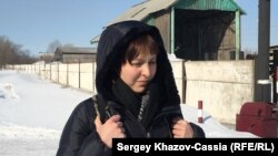 Алтай өңірі Рубцовск қаласындағы ИК-5 түзету мекемесіне келген Анастасия Зотова.