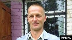 Belarus - Leanid Autukhou, political activist, 13Aug2009