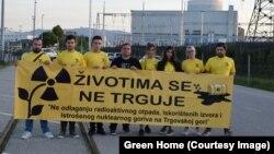 Aktivisti iz organizacije Green Home protiv odlaganja otpada na Trgovskoj gori