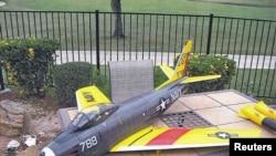 Un model al avionului teleghidat pe care intenționa să-l folosească atentatorul