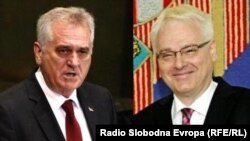 Tomislav Nikolić i Ivo Josipović