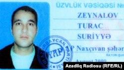 Turac Zeynalov