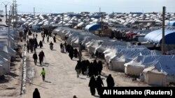 Сириянын «Ал-Хол» лагери. 1-апрель, 2019-жыл.