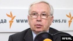Уполномоченный по правам человека в России Владимир Лукин, московская студия Радио Свобода, 6 апреля 2009