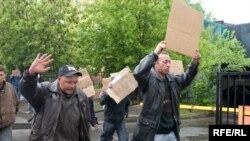 Противники проведения Национальной ассамблеи провели несколько странных акций