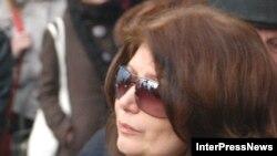 Инна Гудавадзе, вдова Бадри Патаркацишвили, пытается оспорить завещание покойного супруга
