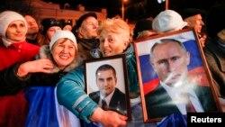 Концерт в Севастополе по случаю годовщины аннексии Крыма