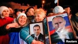 Концерт в Севастополе по случаю годовщины аннексии Крыма.