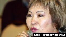 Гүлнар Жуаспаева, адвокат. Алматы, 23 қазан 2012 жыл