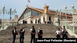Поліція взяла під охорону місце нападу біля вокзалу, Марсель, 1 жовтня 2017 року