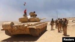 نیروهای عراقی در جنوب موصل