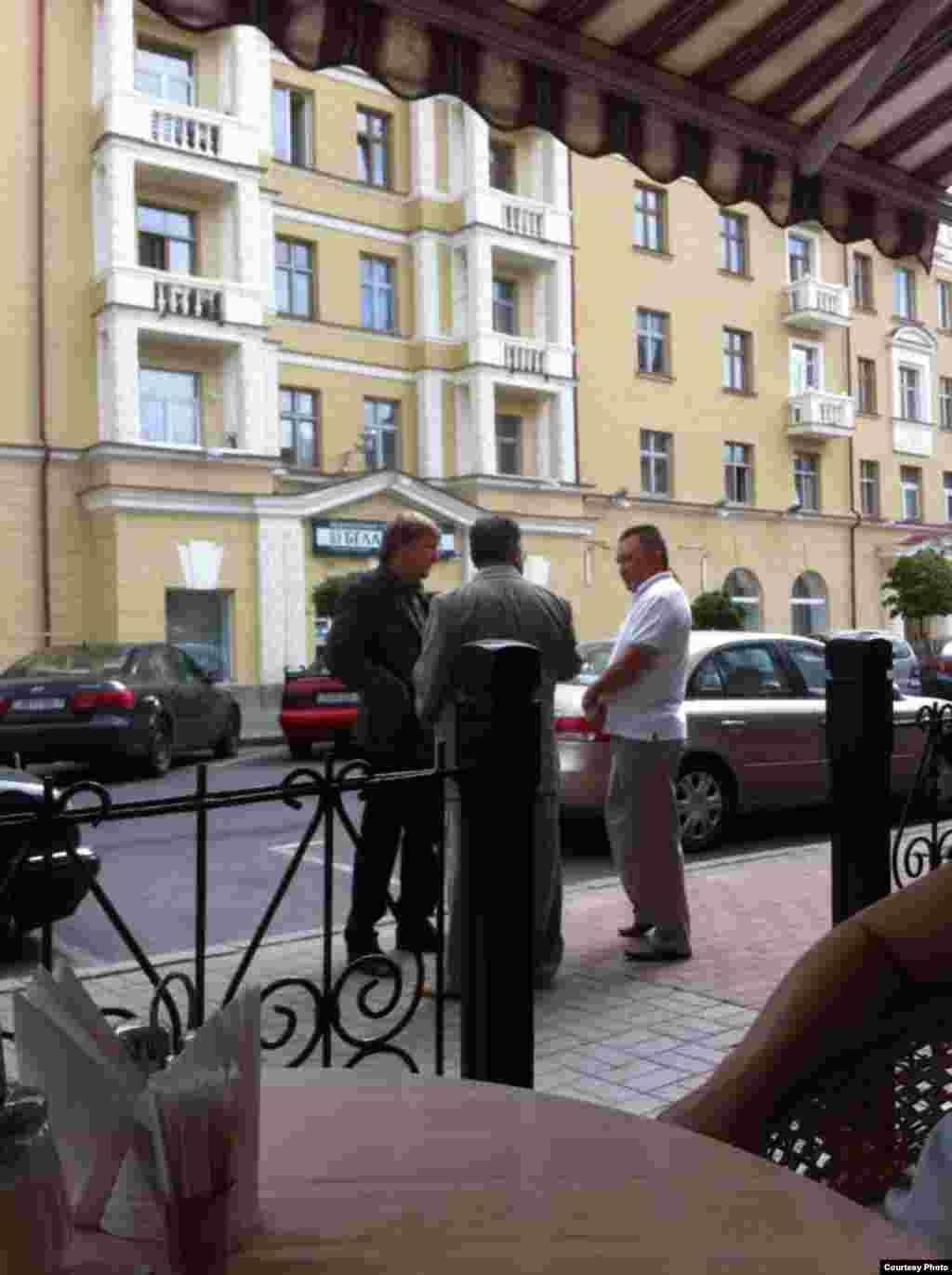 Жаныш Бакиев в Минске. Фото Белорусской службы РСЕ\РС