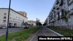 Пустынные улицы Заозерска