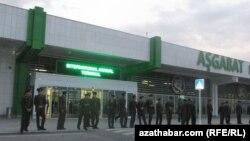 Aşgabadyň halkara aeroporty.