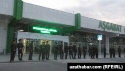 Международный аэропорт, Ашхабад.