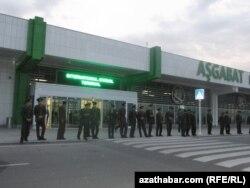 Aşqabadın hava limanı