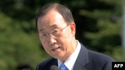 UN Secretary-General Ban Ki-moon walks a fine line.