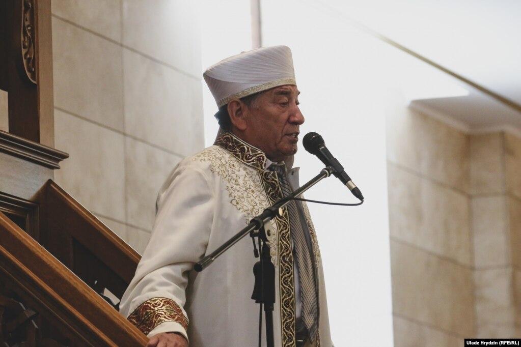 Глава Мусульманского религиозного о & rsquo; единения Беларуси, муфтий Абу Бэкир Шабанович.