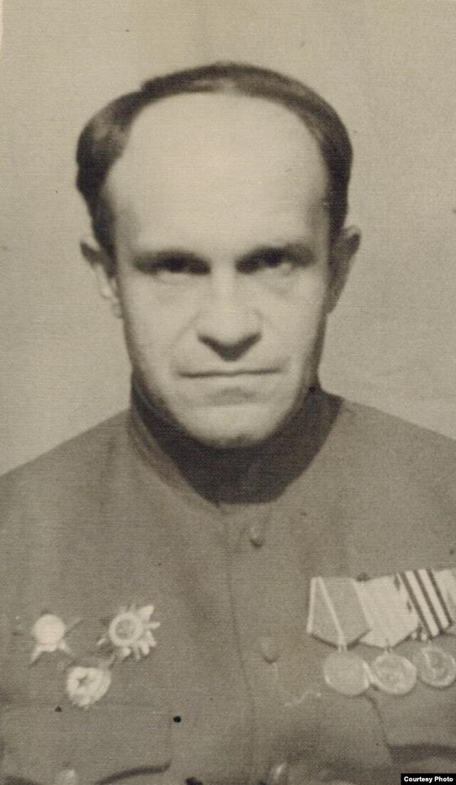 Прадед Александра Беляева Владимир Найбич