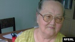 Пенсионерка Райкуль Ахметкалиева. Семей, сентябрь 2009 года.