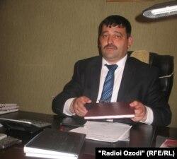 Юсуф Сафаров, раиси Оҷонсии омори вилояти Хатлон.